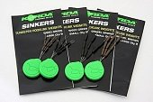 Огрузка для крючка Korda Sinkers Small Gravel Brown KSKSB